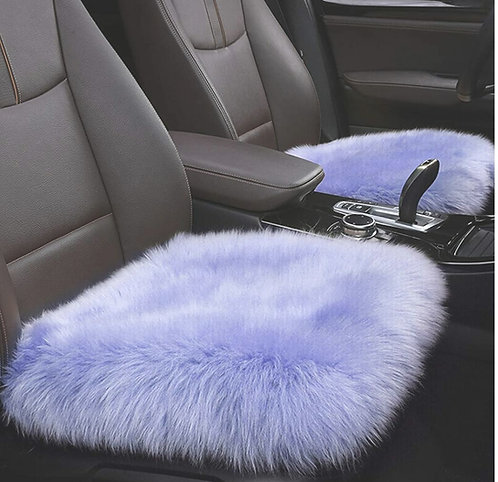 Superior Quality Faux Fur Chair Cover - One - ( 20x20 )