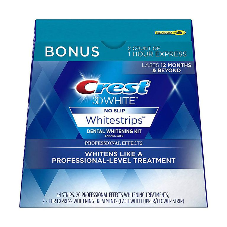 Crest 3D White Professional Effects Whitestrips amazon.com $68.00 $61.99 (37% off) SHOP NOW Even with all the whitening treatments available, we always go back to Crest's white strips. Amazon is our go-to to find the best deal.