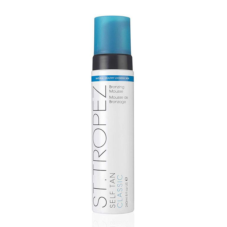 St. Tropez Self Tan Bronzing Mousse amazon.com $42.00 SHOP NOW A natural glow is possible in any season with St. Tropez's self tanner. A favorite for its streak-free formula, the brand's classic mousse goes on easy, doesn't smell weird, and lasts for up to 10 days.