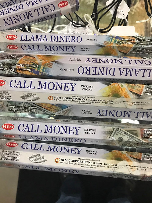 CALL MONEY TO YOU WITH THESE INCENSE