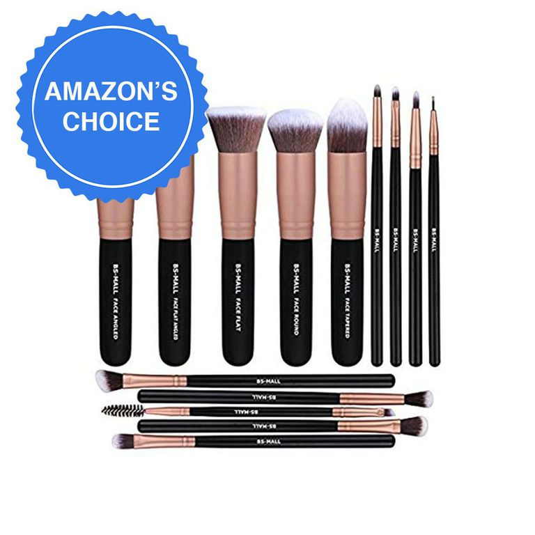 BS-MALL 14-Piece Makeup Brush Set amazon.com $25.99 $9.99 (62% off) SHOP NOW No matter if you're new to makeup brushes or looking to replace your old ones, this set is worth scooping up! The top-rated, 14-piece collection is a favorite for its soft bristles and quality handles that rival designer versions.