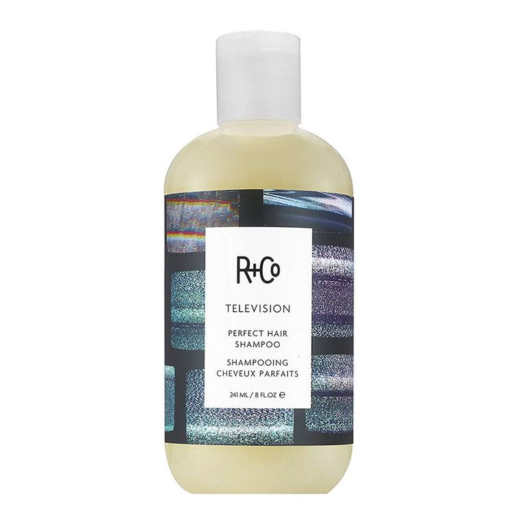 R+Co Television Perfect Hair Shampoo amazon.com $32.00 SHOP NOW The branding folks at R+Co were not playing around when they named this shampoo. The Perfect Hair Shampoo will literally give you perfect hair. It makes it sleek, shiny, and soft in just one wash — everything you want from your shampoo.