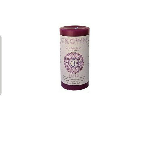 Crown Chakra Candle - Pillar