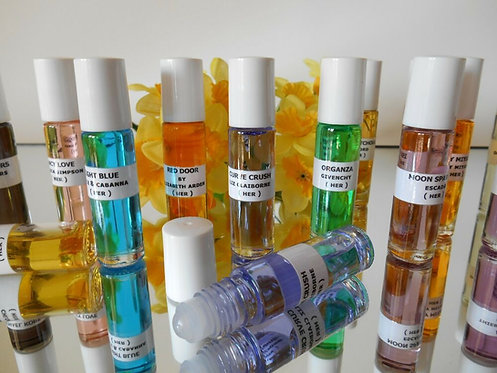 Fragrance Body Oils - Perfume Oils - As Low As $7