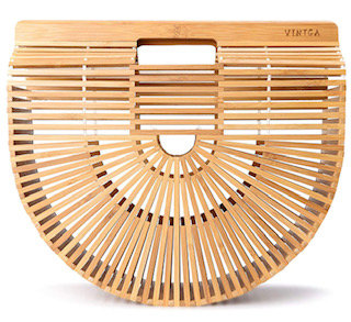 Bamboo Handbag Handmade Tote purse