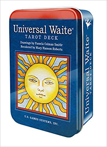 Tin Case - Universal Waite Tarot Deck Inc/ Shipping