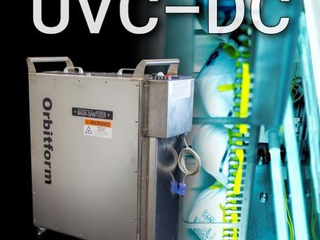 Orbitform Medical, LLC Develops N95 UVC Decontamination Chamber