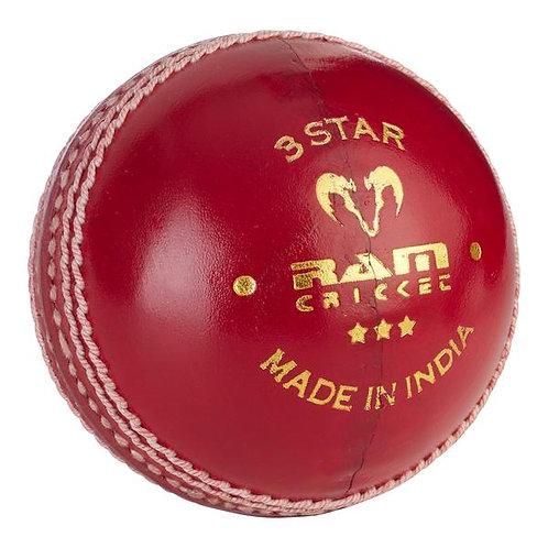 Ram Cricket 3 Star Match Ball - Box of 6