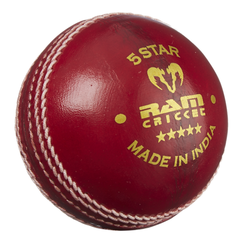 Ram Cricket 5 Star Match Ball - Box of 6