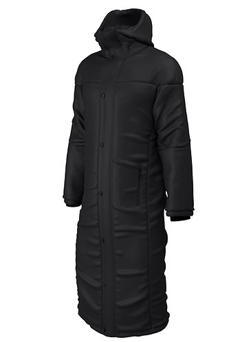 Contoured Thermal Touchline Coat