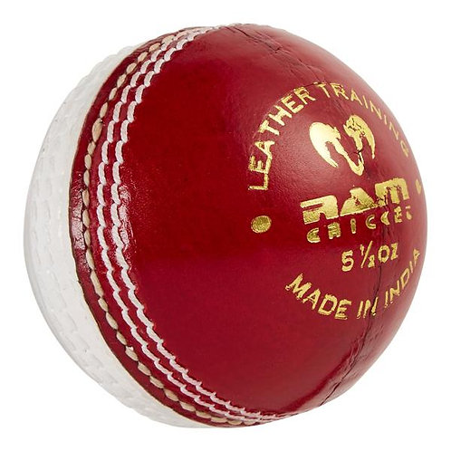 Ram Cricket Leather Coaching Ball - Box of 6