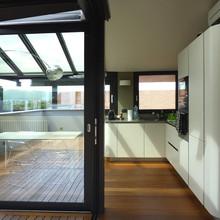 Open-space con terrazzo