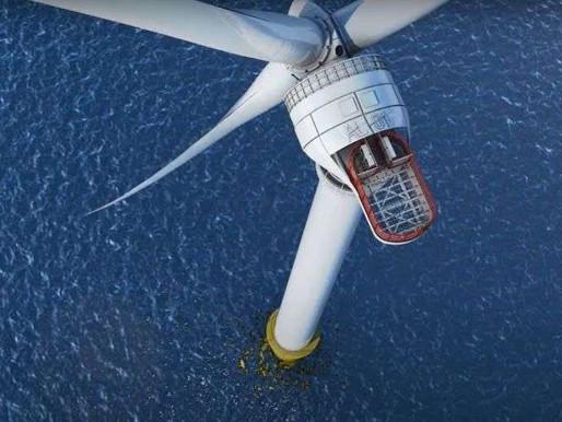 Énergies renouvelables : la France veut combler son retard et lance un gigantesque parc éolien en me
