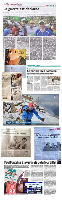 Articles de presse Paul Fontaine