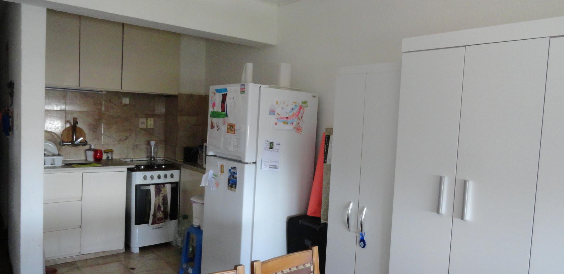 Vista hacia la cocina