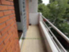 Balcón al frente