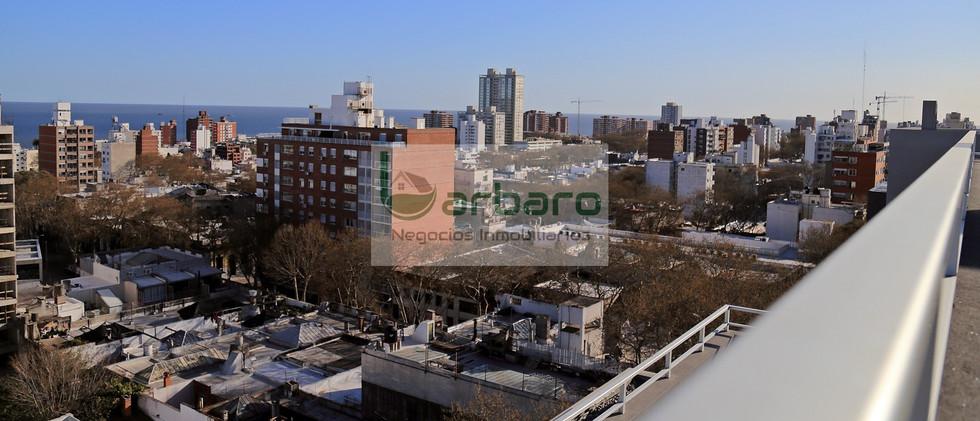 Vista de la ciudad desde la azotea