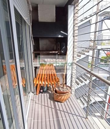 Balcón con parrillero de uso exclusivo