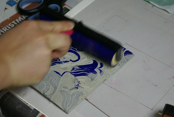 Relief printmaking 3 hours workshop