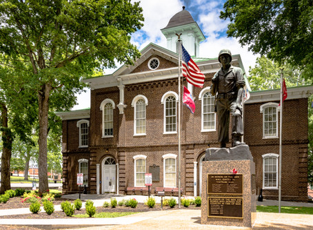 Historic Loudon County, TN Courthouse Fire