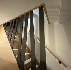 Garnissage escalier