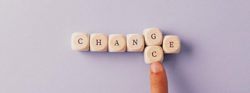 3 étapes vers un changement pour toi