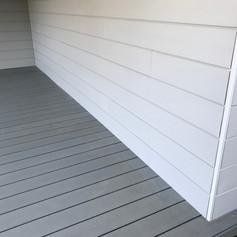 Terrasse et bardage