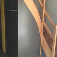 Dessous d'escalier sur mesure