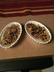 White Chocolate Creme Brulee