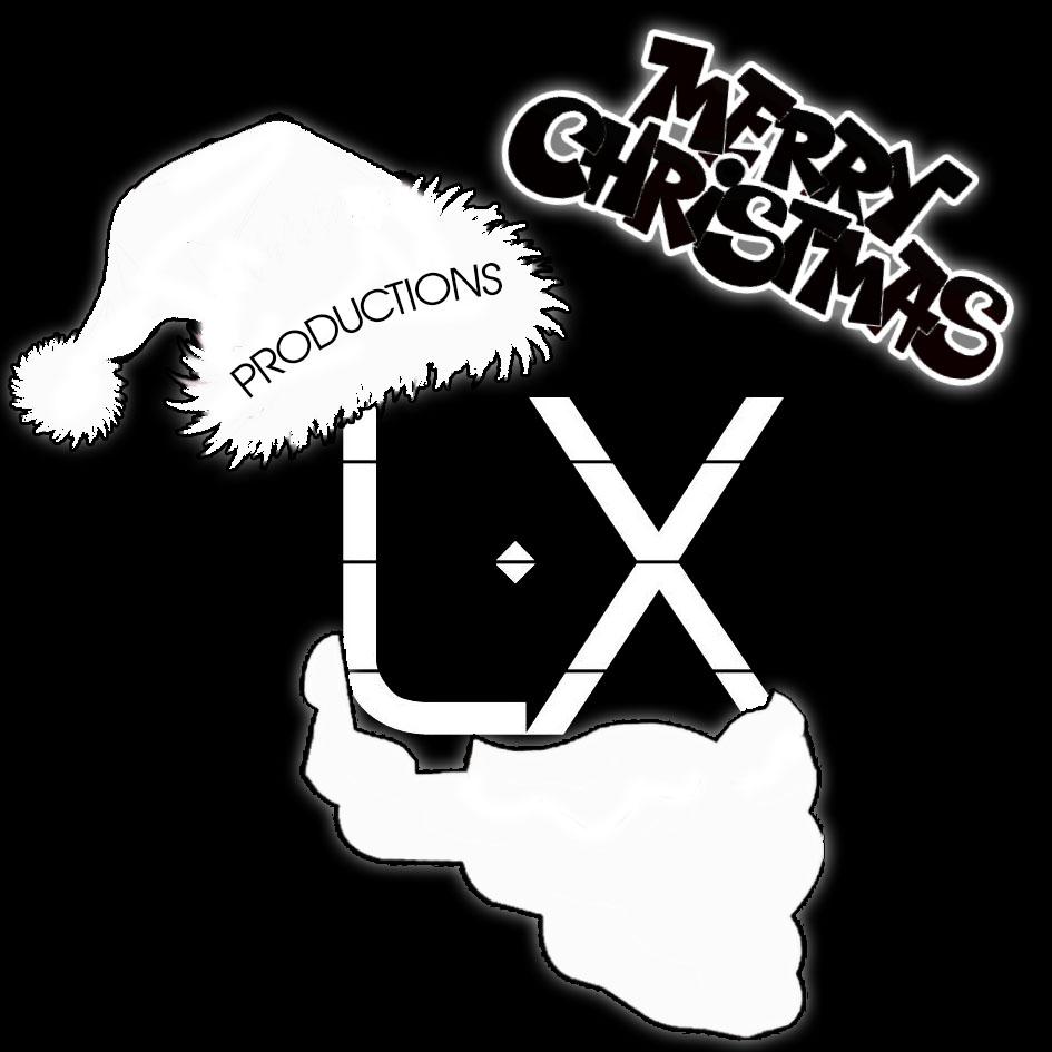 LX Productions logos Noel v2 sans fond