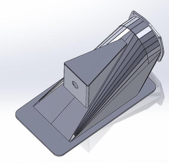 155mm Sheet Metal Intake