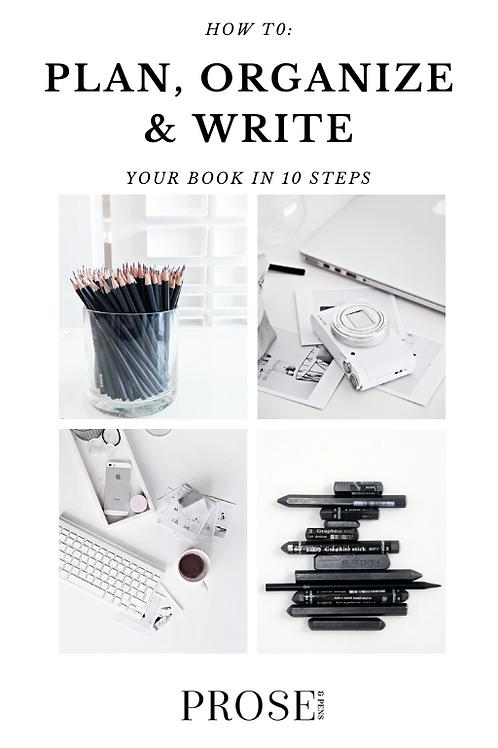 Plan, Write & Organize Your Book