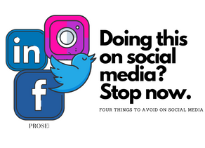 Doing This on Social Media? Stop now.