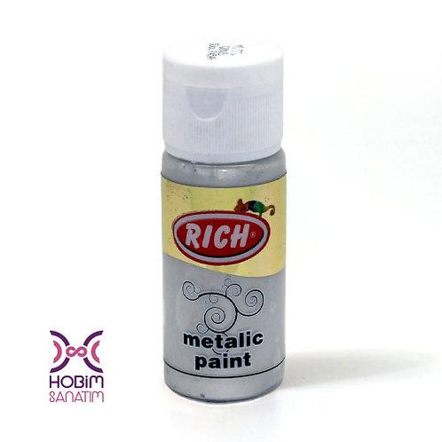 Metalik Akrilik - Gümüş