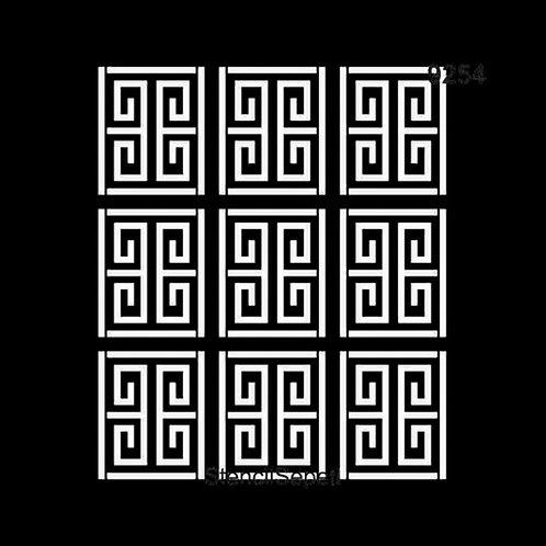 Versace Desen - Stencil 9254