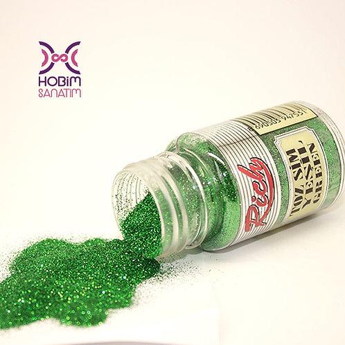 Simli Toz Boya - Yeşil