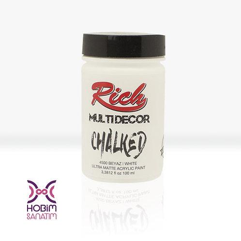 Multi Dekor Chalked - Beyaz