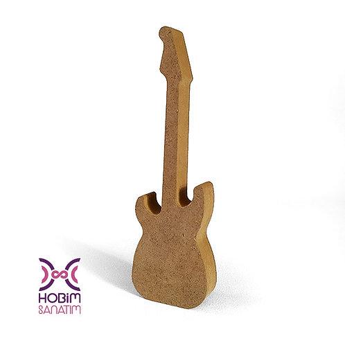 Gitar - Ham Ahşap