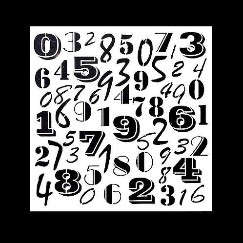 Rakamlar - Stencil Kağıdı