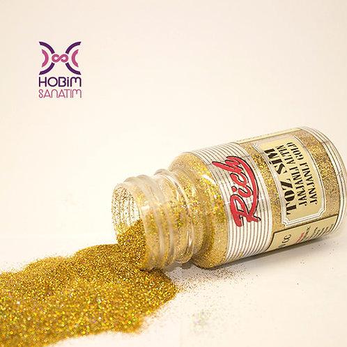 Simli Toz Boya - Janjanlı Altın