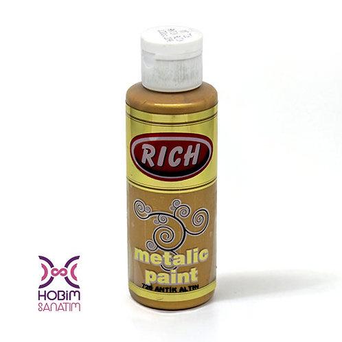 Metalik Akrilik - Antik Altın