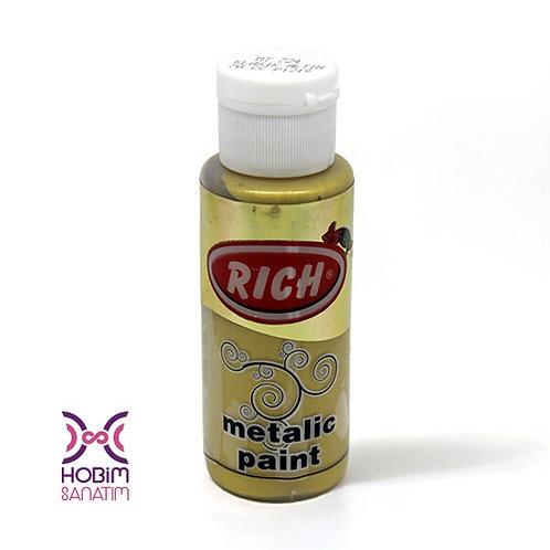 Metalik Akrilik - Klasik Altın