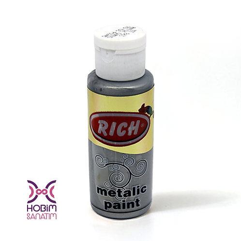 Metalik Akrilik - Antik Gümüş