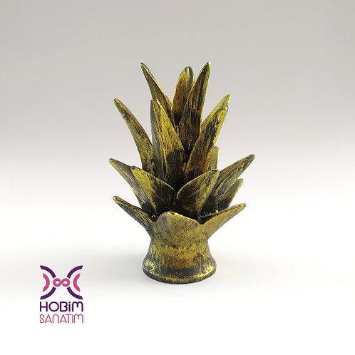 Ananas Yaprağı- Polyester Hazır Ürün