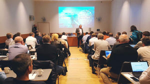 Picture of the meeting room where the kick-off took place