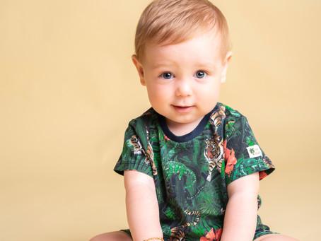 Qual è l'età migliore per la sessione fotografica del tuo bambino?