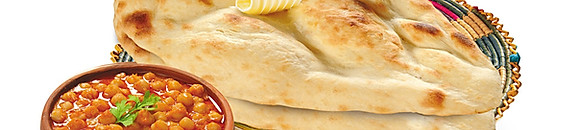 Tandoori Naan - Rotis (traditional bread)