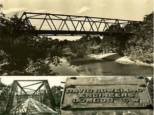 Você sabia? Construída em 1896, Ponte de Ferro foi destruída por uma enchente