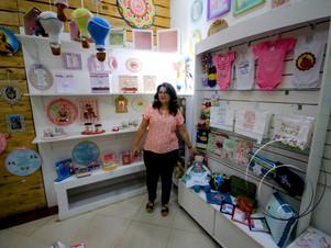 Empório Cuiabano oferece artesanato e cultura popular em shopping de Cuiabá