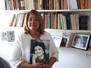 Biografia de Sarita Baracat retrata a trajetória de uma mulher sempre à frente do seu tempo